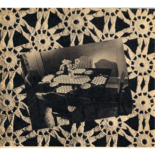Vintage Crochet Luncheon Set Patter
