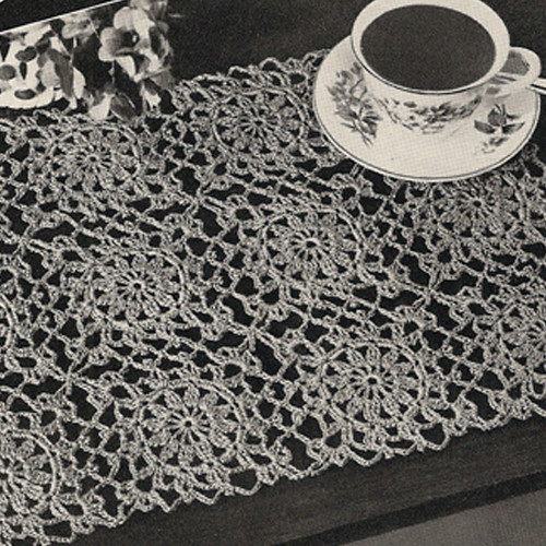 Vintage Crochet Squares for Crocheted Mats Pattern