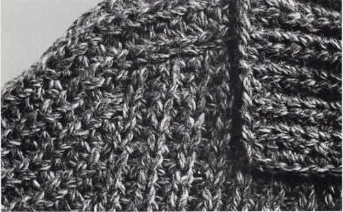 Knitted Coat Pattern Stitch