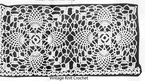 Pineapple Square Crochet Pattern, Mail Order 2763