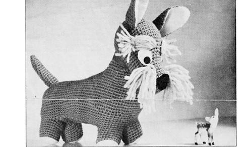Crochet Stuffed Terrier Dog Pattern