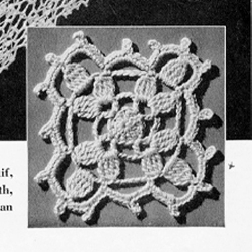 Crochet True Love Medallion Pattern