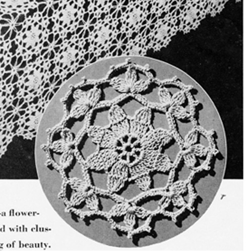 Round Crochet Medallion Pattern, Princess Charming