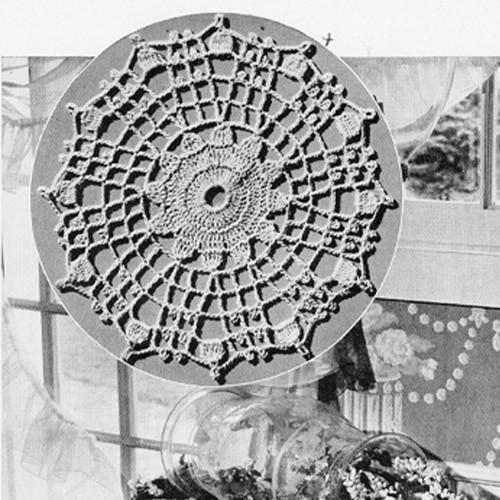Vintage Sun Medallion Crochet Pattern