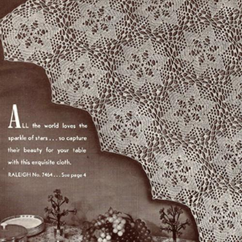 Raleigh Crochet Star Medallion Pattern