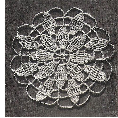Queen Anne's Lace Medallion Pattern