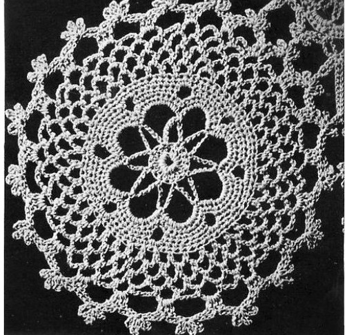 Crochet Round Medallion Pattern