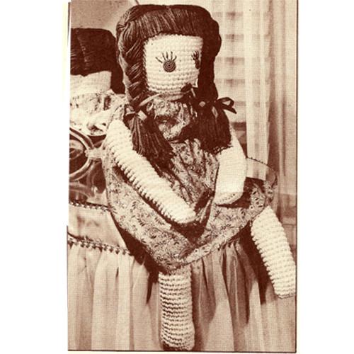 Large Raggedy Anne Crochet Doll Pattern