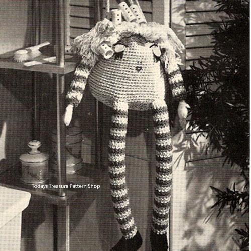 Crochet Doll Curler Bag Pattern