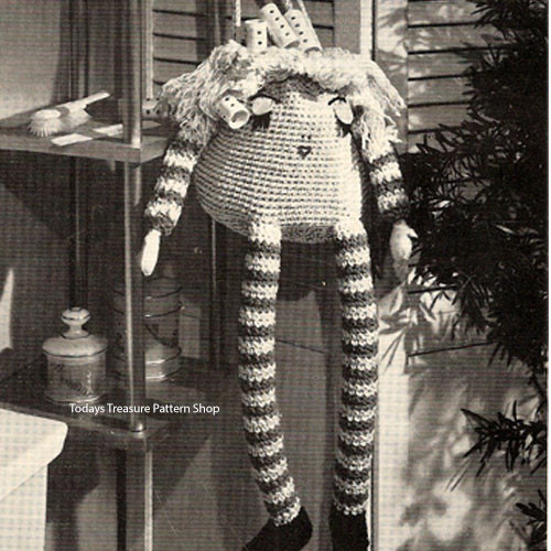 Crochet Doll Curler Bag Pattern