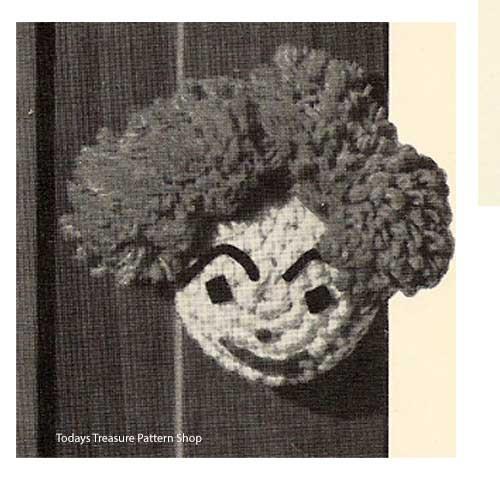 Boy Crochet Doorknob Cover Pattern