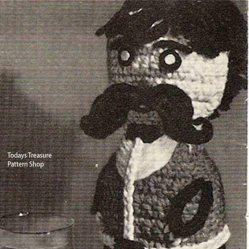Jim Fizz Crochet Figure Pattern