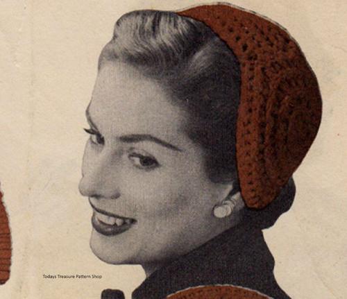 Vintage Circle Cap Crochet Pattern