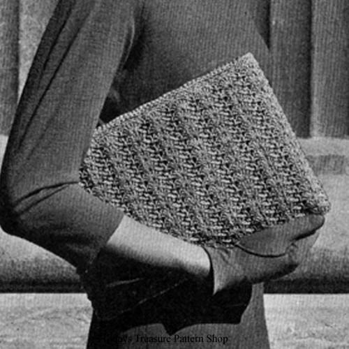 Easy Crochet Envelope Clutch Pattern