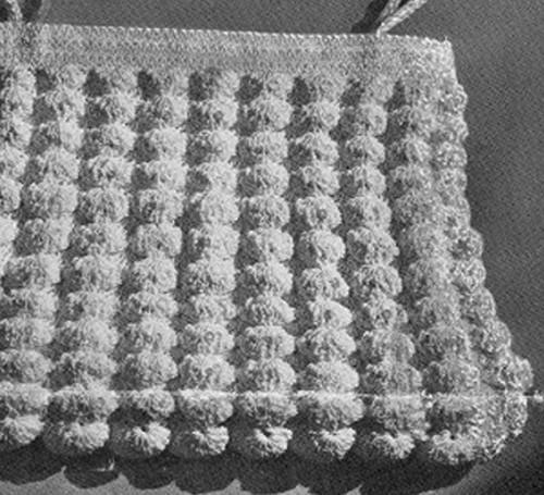 Vintage Shell Stitched Purse, Free Crochet Pattern