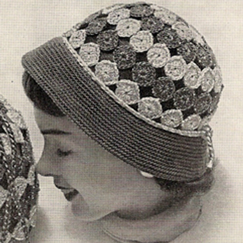 Crochet Medallion Hat Pattern