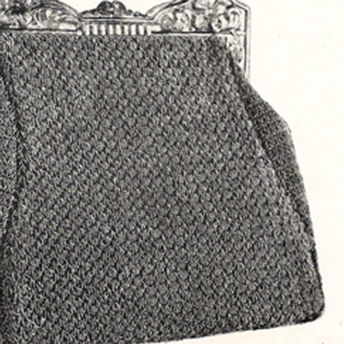 Guimp Crocheted Handbag Pattern