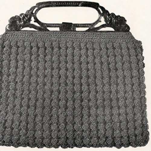 Crochet Purse Pattern in Slanting Stitch