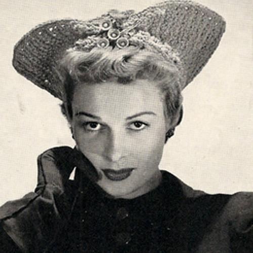 Unusual Crochet Calot Hat Pattern