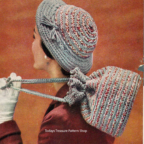 Vintage Brimmed Hat Crochet Pattern