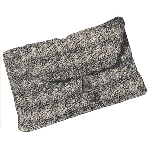 Vintage Crochet Evening Clutch Pattern
