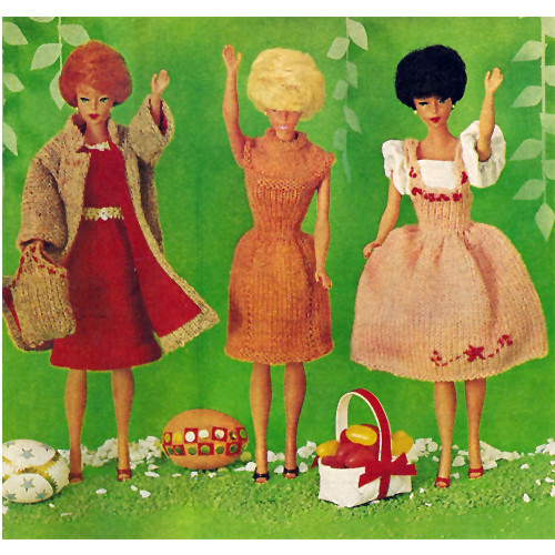 Crochet Outfits for Barbie Size Doll Patterns