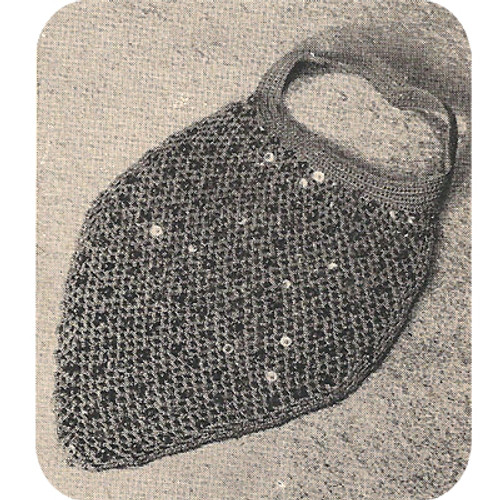 Free Dickey Crochet Pattern with Sequin Trim