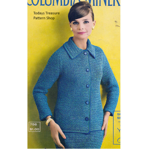 Misses Loose Fitting Suit Crochet pattern