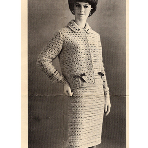 Crochet Misses Suit Pattern