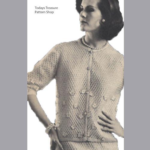 Crocheted Cardigan Suit Pattern