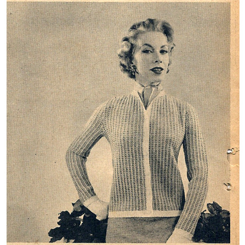 Knitted Two Piece Suit Pattern