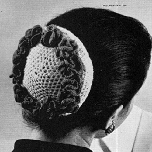 Crochet Two Tone Snood Pattern from Bernat