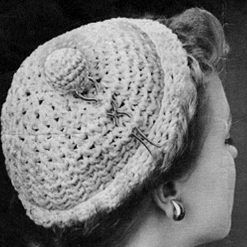 Easy Crochet Poodle Cap Pattern
