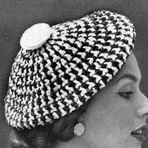 Scots Crochet Beret Pattern