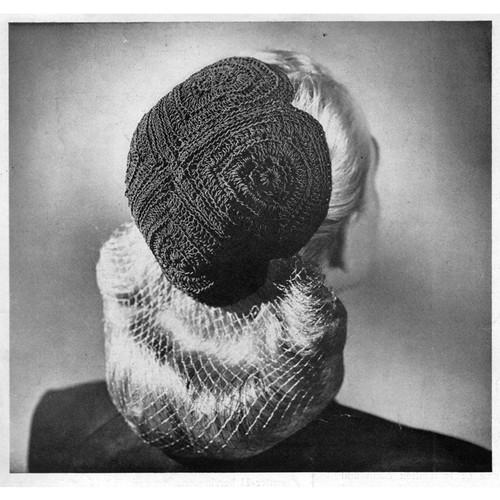 Vintage Crochet Calot Pattern
