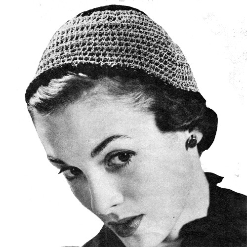 Fitted Crochet Calot Hat Pattern