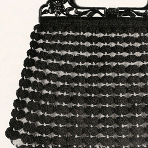 Crocheted Clasp Shell Handbag Pattern