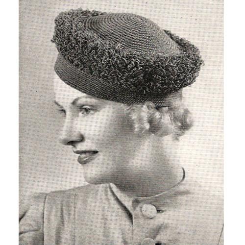 Loop Stitch Crochet Hat Pattern