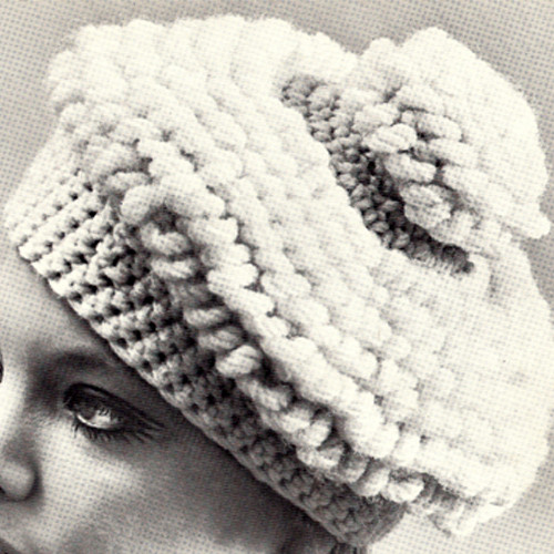 Bulky Crocheted Beret Pattern