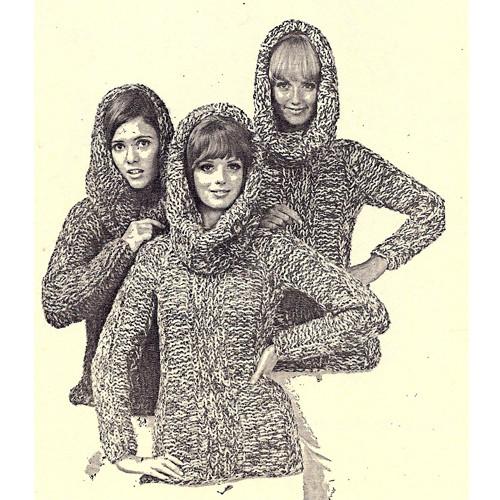 Ribbed Knit Sweater Pattern on Big Needles