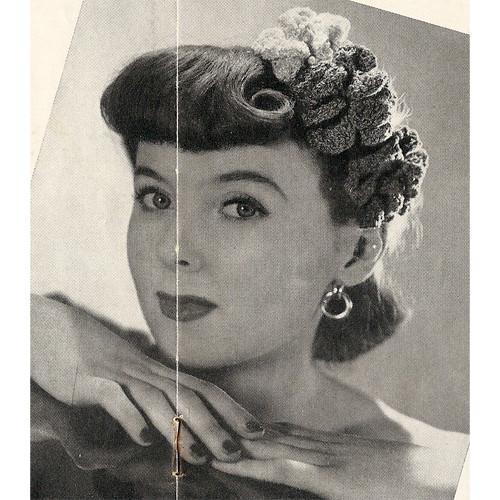 Free Crochet Hair Piece Pattern