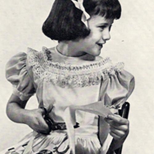 Vintage 1950's Ruffled Crochet Edging, Free Pattern