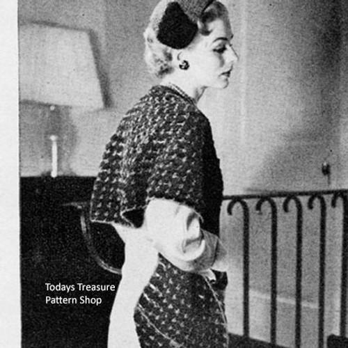 Crocheted Chenille Stole Pattern