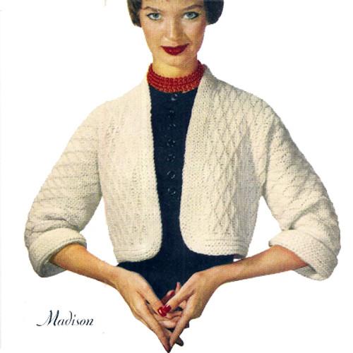 Crochet Waist Length Shrug Pattern