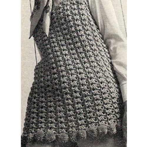 Beginners Crochet Top Pattern, Vintage 1960s