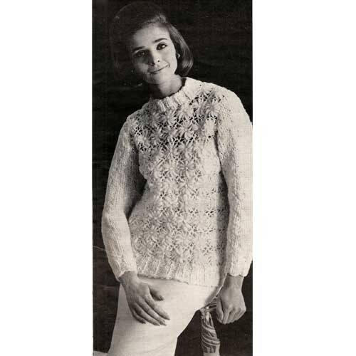 Crochet Sweater Pattern using the Crazy Daisy Winder
