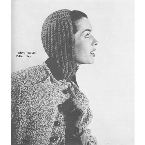 Knitting Pattern Helmet Hat