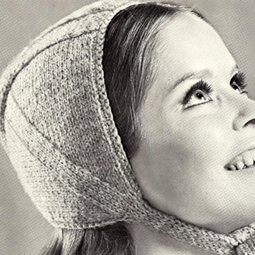 Vintage Knitted Helmet Pattern