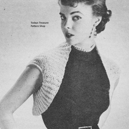 Free Knitted Shrug Pattern