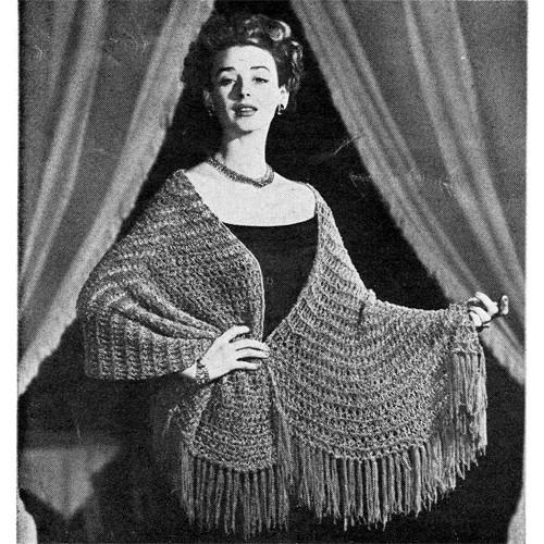 Knitting Pattern Chenille Stole